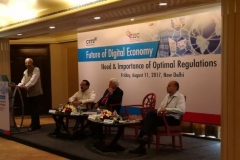On the occasion of International Conference on Future of Digital Economy: Need & Importance of Optimal Regulations at New Delhi on August 11, 2017