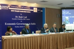 "On the Occasion of 14th CUTS 30th Anniversary Lecture by Rajiv Lall on ""Economic Governance in India "" at Mumbai, on January 21,2014"