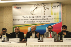 On the occasion of 'World Competition day' on 05th December, 2016, at New Delhi