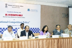 "Consultative meeting with Dr. M. Veerappa Moily Hon'ble Union Minister for Corporate Affairs on National Competition Policy"", organized by Indian Institute of Corporate Affairs with the Ministry of Corporate Affairs, in Mumbai on September 12, 2011"