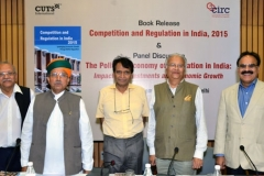 """Book Release """"COMPETITION AND REGULATION IN INDIA 2015"""" on Thursday, 01st September, 2016, at India International Centre, New Delhi"""