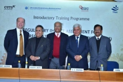 On the occasion of 'Training Programme on Regulatory Impact Assessment for Telecom Regulatory Authority of India (TRAI)' at New Delhi from 18-19th January, 2016