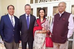 With Mr.Muhammad Afzal Khan, MNA, Faisalabad, Dr. Muhammad Shoaib Suddle, former IG Police, Sindh & Baluchistan and Mr. Pradeep Mehta, Secretary General,CUTS International